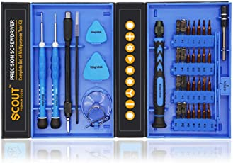 Scout 38 PCs S2 Precision Screwdriver Tool Kit