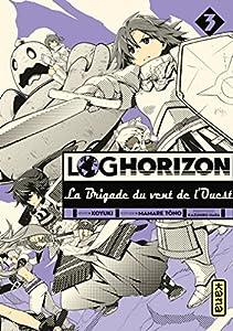 Log Horizon : La brigade du vent de l'ouest Edition simple Tome 3
