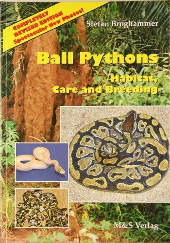 Ball-Pythons. Habitate, Care and Breeding -