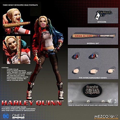 The One: 12 Suicide Squad Harley Quinn Fig. (Daddys Little Baseball)