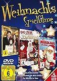 Weihnachtsspielfilme (3 DVDs - Die Liebe kommt mit dem Christkind, Lauras Wunschzettel, Der Nikolas im Haus)