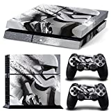 Ps4 Playstation 4 Consola Star Wars StormTrooper Sticker Decal...