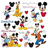 Roommates Mickey and Friends Peel and Stick Wall Decal (Multi-Color) - Best Reviews Guide