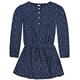 Königsmühle Mädchen Kleid 1/1 Arm, Blau (Navy Blazer 3105), 122