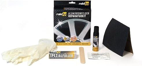 raid hp 340001 Aluminiumfelgen Reparatur Kit, Silber