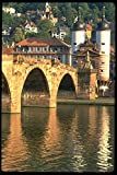 580013 Old Bridge Heidelberg A4 Photo Poster Print 10x8