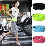Unisex elastischer Gürtel-Satz-Beutel-Gerät-Handyhalter für Sport Jogging und Fitnessstudio Radfahren Laufen - Fluorescent Gelb L