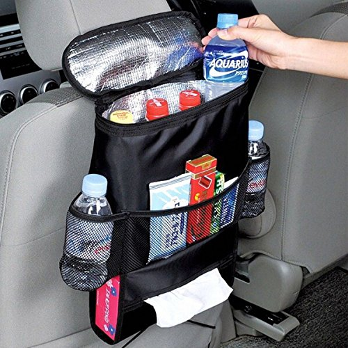 Preisvergleich Produktbild Isolierter Rücksitz-Organizer für Fahrzeuge, Kleintransporter oder Sport-Utility-Fahrzeuge mit mehreren Taschen & super Wärmedämmung der Tasche, Aufbewahrungstasche für die Reise im Auto, ein Zubehör von One1 X®