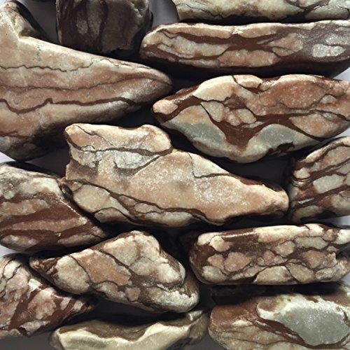 Kieselsteine vergnüglicher 5–8cm/5kg Boden Aquarium Teich Garten
