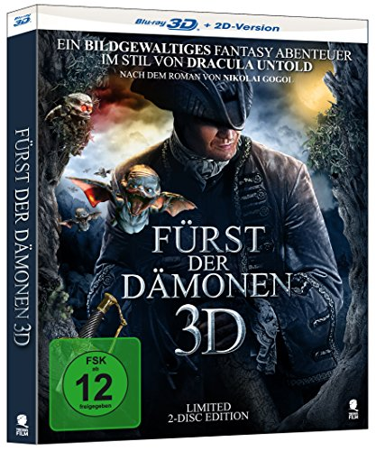 Kostüm Der Ukraine - Fürst der Dämonen [3D Blu-ray, limitierte 2-Disc Edition] (O-Card matt mit partieller Glanzlackeriung) (Alternatives Motiv)