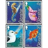 Gibraltar 962-965 (completa.edición.) 2001 Europa (sellos para los coleccionistas)