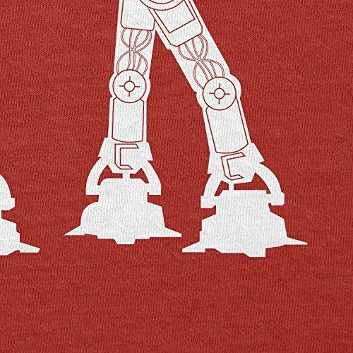 TEXLAB - AT AT Boombox - Herren T-Shirt Rot