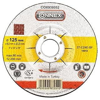 Connex cox938052Schruppscheibe für Stein osa-certified, mehrfarbig, 125x 6mm