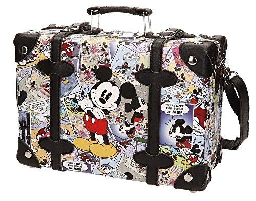 Disney Mickey Comic Neceser de Viaje, 7.16 Litros, Color Varios Colores