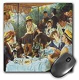 3drose der Frühstück der Ruderer von Auguste Renoir–Maus Pad, 8von 20,3cm