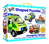 Galt Toys Shaped Puzzle Emergency Vehicles