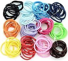 Kigins 100 pezzi/set bambini moda casual carino copricapo corda elastica capelli corda per capelli Fasce
