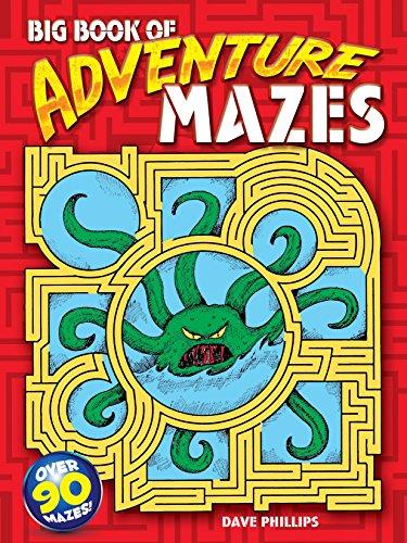 Big Book of Adventure Mazes (Dover Children's Activity Books)