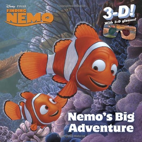 Nemo's Big Adventure [With 3-D Glasses] (Disney - Pixar Finding Nemo)