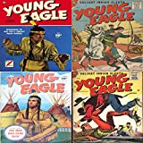 Young Eagle. Issues 1, 3, 4 and 5. Greatest Indian Warrior and Valliant Indian Sleuth. Digital Sky Comic Compilations Wild West Western (English Edition)