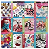 Twenty to Make Collection 12 Books Set (Knitted Wrist Warmers, One-Patch Quilts, Jelly Roll Scraps, Crocheted Baby Shoes, Tiny Toys to Knit, Papercuts, Crocheted Flowers, Knitted Flowers...