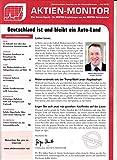 Aktien Monitor 7 2018 Dürr Grammer Zeitschrift Magazin Einzelheft Heft Börsenbrief