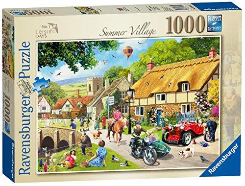 Ravensburger Freizeit Tagen Nr. 1-Summer Village, Spielset Puzzle, 1000Einzelteile