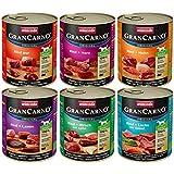 animonda GranCarno Hundefutter, Nassfutter für erwachsene Hunde, 6 x 800 g