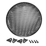 sourcing map 15' Parrilla Tipo gofre de Altavoz de Malla de Metal Cubierta Protectora de Audio para subwoofer