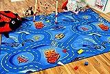 Snapstyle Spiel Kinderteppich Disney Cars Blau in 24 Größen