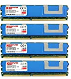 Komputerbay 16GB (4X4GB) DDR2 PC2-6400F 800MHz ECC Fully Buffered FB-DIMM (240 PIN) 16GB w/Wärmeverteilern