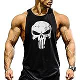 COWBI Mens Vest Muscle Sleeveless Shirt Gym Bodybuilding Tank Top Stringers