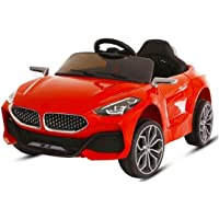 SHAKYA WORLD 12V Battery Operated Z4 Ride on Battery Car for 1 to 4 Years Kids/Children/Toddlers/Boys/Girls with Mobile…