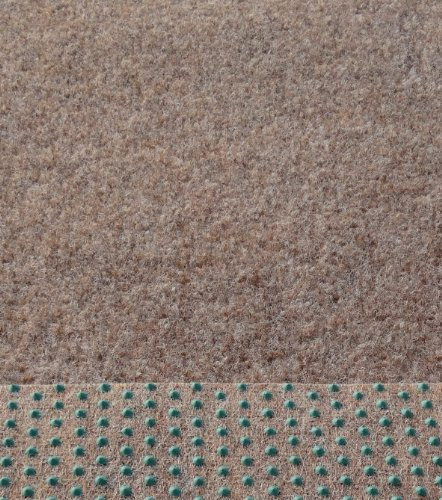 *Kunstrasen Rasenteppich mit Noppen angenehm weich Farbe: beige – braun in verschiedenen Größen*