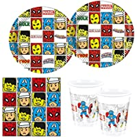 Procos 10118253 Party Set Avengers Team Power