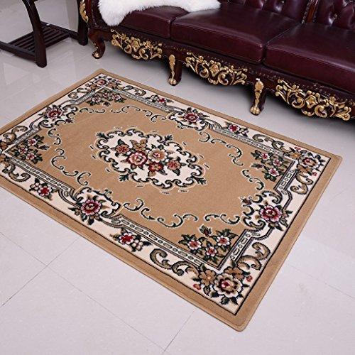 Europea - Retro Style Soggiorno Camera da letto Tavolino Divano Entrata del tappeto rettangolo rosso (Spesso Cucina Tappeti)