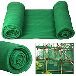 Yaheetech Debris Scaffold Netting Plant Fence Garden Crop Shade 2mx50m Green