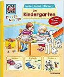 WAS IST WAS Kindergarten. Im Kindergarten: Malen, Rätseln, Stickern