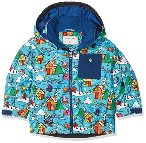 Quiksilver Herren Kids JK Mr Men Little Mission-Snow Jacket For Boys 2-7, Snow White, 6/7 (Quiksilver-herbst Jacke)