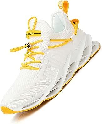 Damyuan Scarpe da Fitness Uomo Casual Jogging Trekking Trail Running Ginnastica Palestra Sportive Sneakers