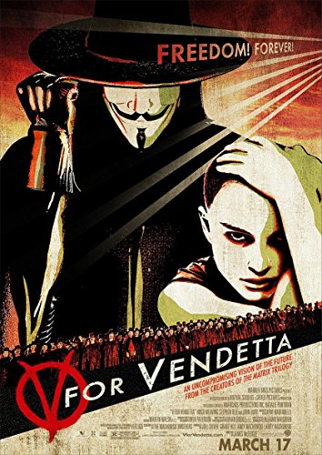 Instabuy Posters V for Vendetta Vintage - Size (42x30 cm)