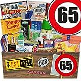 Ostprodukte | 65 Geburtstag | Geschenkset Mama | Spezialitäten Box