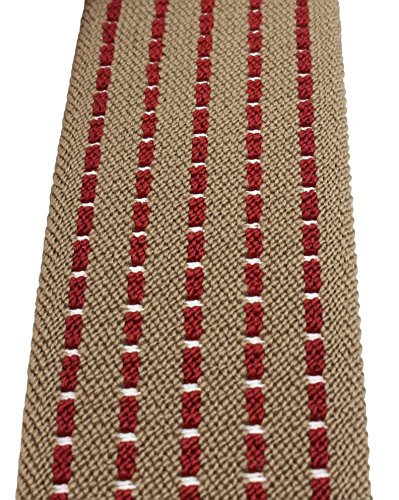 Bretelles de haute qualité avec Clips fort de 35mm   noir bleu royal rouge blanc gris Motif 1