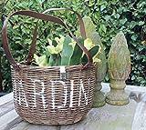 Rustik Rattan Jardin Basket