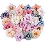 Mini Fausse Marguerite Fleurs Têtes Marguerites Artificielles Petales Artificielle Gerbera Marguerite Fleurs pour l'Artisanat