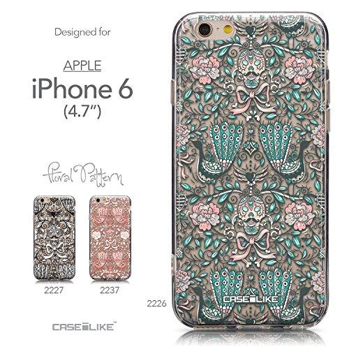 CASEiLIKE Wandschmierereien 2703 Ultra Slim Back Hart Plastik Stoßstange Hülle Cover for Apple iPhone 6 / 6S (4.7 inch) +Folie Displayschutzfolie +Eingabestift Touchstift (Zufällige Farbe) 2226
