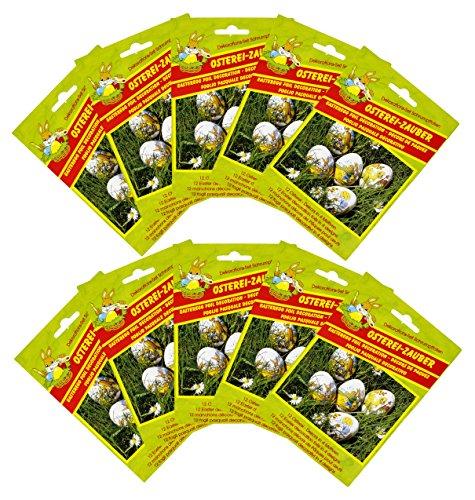 Charmingboxes pellicola per uova di pasqua - 4 motivi - decorazione pasquale pellicola termoretraibile per uova, dolci decorazioni per uova
