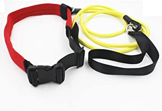 Lepakshi Swim Bungee Training Belt Swim Resistance Belt Swim Resistance Leash Exerciser Belt Swim Te
