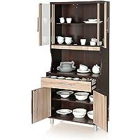 Royal Oak Paris Crockery Cabinet (Walnut)