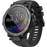 Smartwatch Orologio Fitness Uomo Donna Bambini Impermeabile IP68 Smart Watch Cardiofrequenzimetro da polso Contapassi Fitness